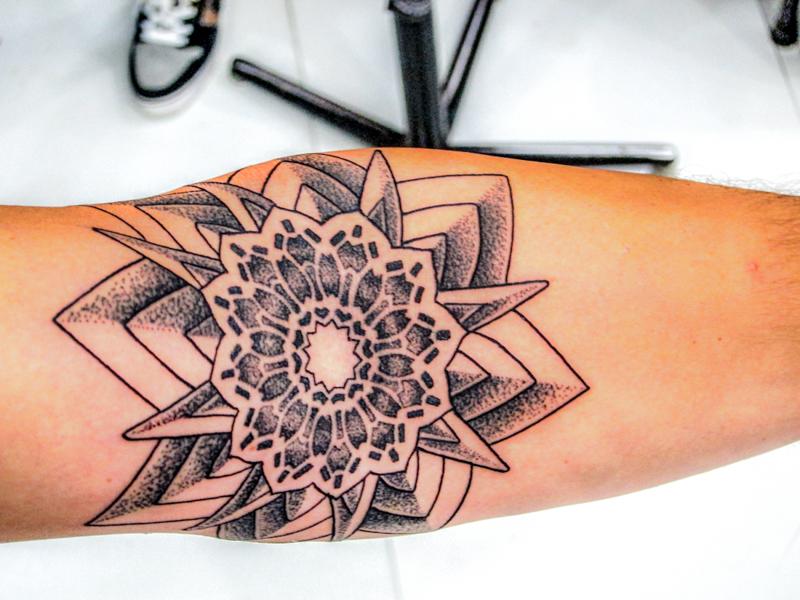 Tattoo Nepal Mandala