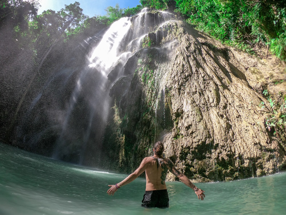 Tumalog Falls - Cebu Island - The Philippines - Banana Journey
